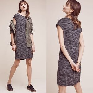 Anthro Cloth and Stone Melange T Shirt Dress